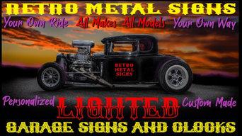 Retro Metal Signs