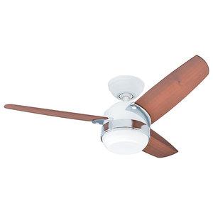 Hunter Nova Ceiling Fan, White, 107 cm