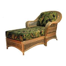 Spice Island Chaise Lounge, Natural, Monocco Sahara Fabric