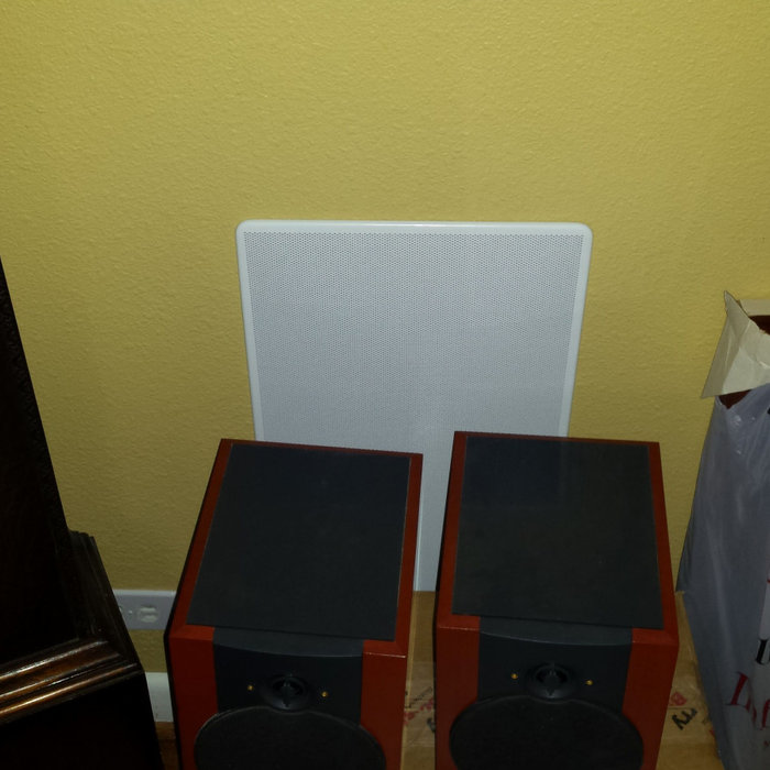 In wall Sub-woofers