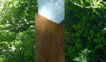 Briefkasten, Stahlskulptur