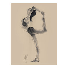 """""""Lord of the Dance Pose"""" Printed Canvas by Hazel Bowman, 80x60 Cm"""
