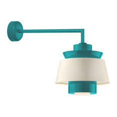 50 most popular midcentury modern outdoor lights for 2018 houzz troy lighting troy aero wall sconces 16 tahitian teal aluminum 1 light workwithnaturefo