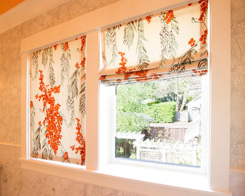 Colorful Master Suite & Laundry Room - Window Treatments