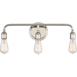 Great Contemporary Bathroom Vanity Lighting by Quoizel
