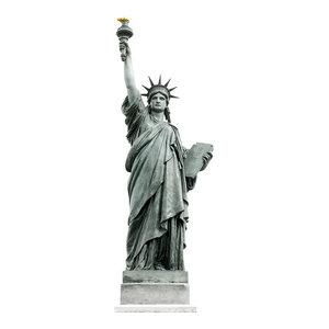 Lady Liberty Wall Sticker, 58x177 cm