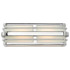 Hinkley Winton Bath 2-Light Vanity, Chrome
