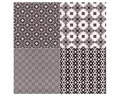 Decor Collage Negro - Wall & Floor Tiles
