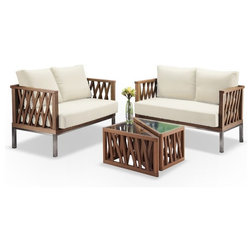 Beautiful Transitional Outdoor Lounge Sets by Zen Better Living