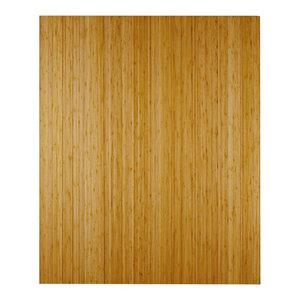 "Anji Mountain Bamboo Deluxe Roll-Up Chairmat 43""x48"" No Lip, 43""x48"""