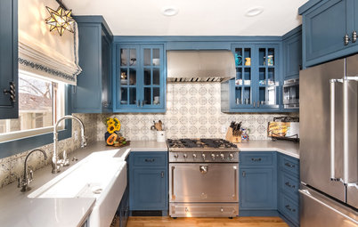 Kitchen of the Week: 112 Square Feet Laid Out for 2 Cooks