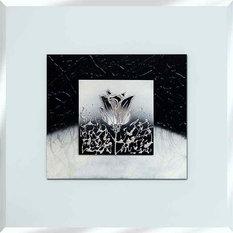 outletmirrorscom abstract white mirrored wall art 75cm x 75cm wall mirrors baumhaus mobel solid oak medium wall mirror