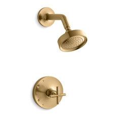 Kohler Purist Rite-Temp Shower Trim Set w/, Vibrant Moderne Brushed Gold