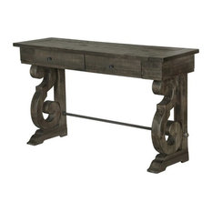 Bon Magnussen Home Furnishings   Magnussen Bellamy Console Table, Weathered  Pine   Console Tables