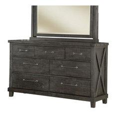 Vantage Dresser in Rustic Black