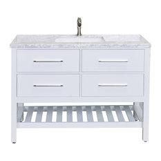 """Eviva Natalie 48"""" Bathroom Vanity With Top and Sink"""