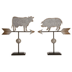 Farmhouse Decorative Objects And Figurines by Glitzhome