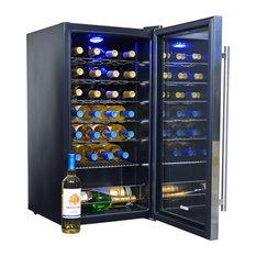 NewAir - NewAir AWC-270E 27 Bottle Compressor Wine Cooler - Beer and Wine Refrigerators