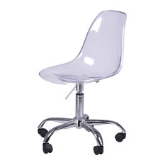 new pacific direct allen molded office chairs transparent crystal set of 2 acrylic office chairs