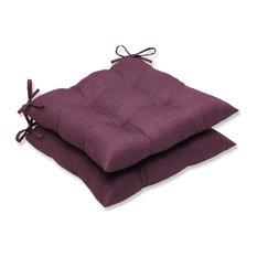 Rave Wrought Iron Seat Cushion, Set of 2, Vineyard