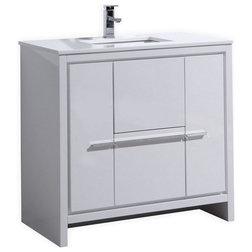 Contemporary Bathroom Vanities And Sink Consoles by Kubebath
