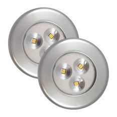 Lite-N-Up LED Utility Light, Silver - 2 Pack | 75221S