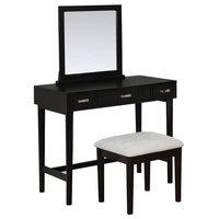 Garbo Black Vanity Set