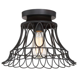 Industrial Flush-mount Ceiling Lighting by Savoy House