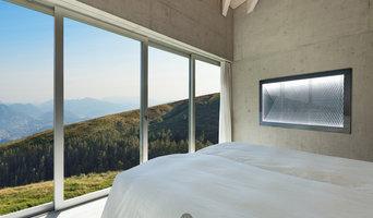 idea.dome Wandbeleuchtung in einem Schlafzimmer