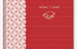 'What I Read' Mini Journal, Red