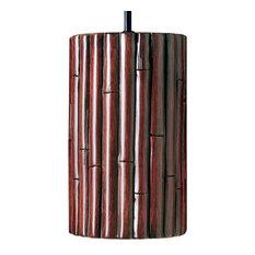 Bamboo Pendant Natural, Cinnamon