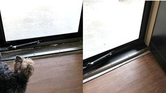 Door threshold replacement