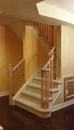 interior stair railing designs ideas and decors most.htm white railing or stained railing for stairs   railing or stained railing for stairs