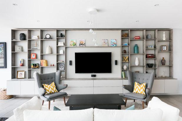 Contemporary Vardagsrum by Owl Design
