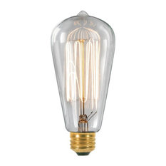 1092 Vintage Filament Light Bulb, 60 Watt Medium Base
