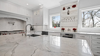 Custom Inset Kitchen Renovation Essex Fells NJ