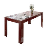 Prisma (red) extending dining table