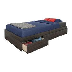 Atom Twin Size 3-Drawer Storage Bed From Nexera