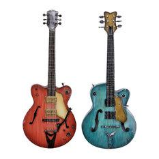 Metal Guitar, 2-Piece Set