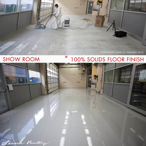 Show Room 100% Solids Floor Finish | Benjamin Moore Industrial Paint