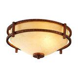 Rustic-looking ceiling lamp Rosanna