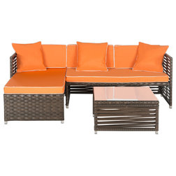 Best Tropical Outdoor Lounge Sets by Safavieh