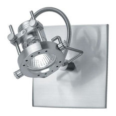 Steel Down Lighting Wall Sconce From The Technic Collection