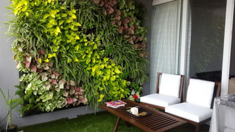 Balcony Terrace vertical garden