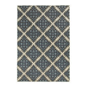 "Oriental Weavers Linden 7816B 7'10""x10'10"" Ivory, Blue Rug"
