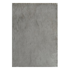 Noble House Crystal CRYS-2609 4'x6' Gray Rug