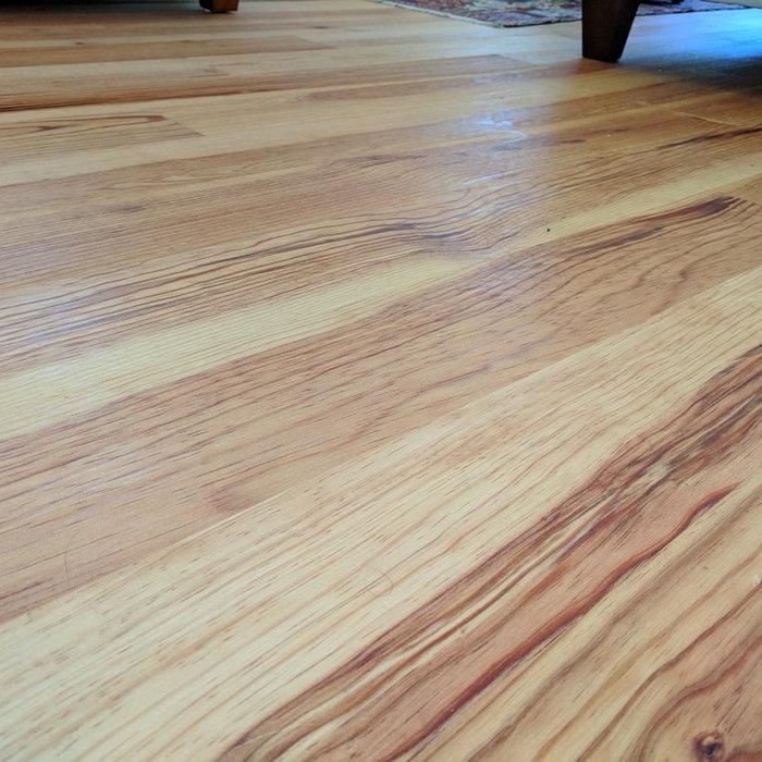 Caribbean Heart Pine Hardwood Floors