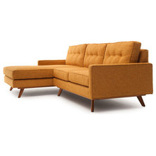 Avery 2 chaise sectional sofa for Chaise james eames