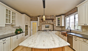 Photography for Granite Grannies--Leathered Antique Brown & River Valley Granite