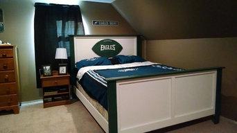 NFL bed